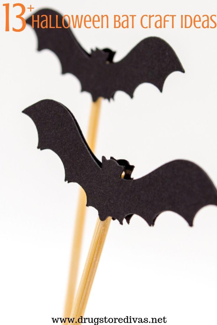13 Halloween Bat Craft Ideas Drugstore Divas