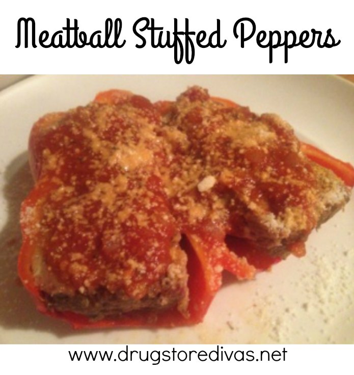 Looking for a tasty meal to warm you up? Try these Meatball Stuffed Peppers from www.drugstoredivas.net.