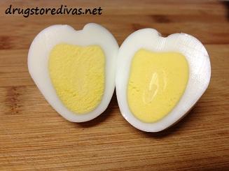 heart hard boiled eggs