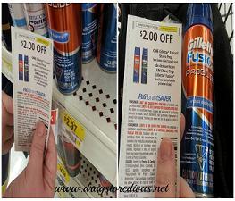 Gillette coupons walmart