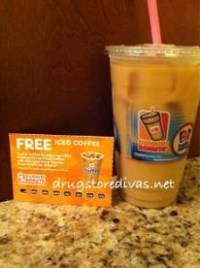 dunkin free coffee