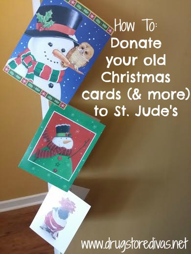 donating christmas cards to st. jude's