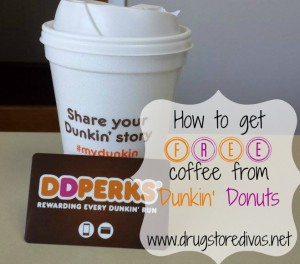 Dunkin Donuts Perks How To Get Free Coffee From Dunkin