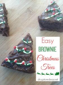 brownie chrismas trees1