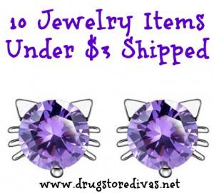 Amazon 10 Jewelry Items Under 3 Shipped Drugstore Divas