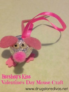 I Donu0027t Want A Mouse In The House At All Ever. But We Have One Right Now.  This Adorably Cute Hersheyu0027s Kiss Valentineu0027s Day Mouse.