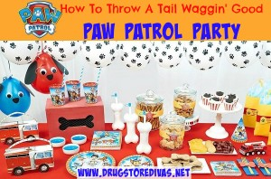 If your kid is in love with Paw Patrol, check out this how to throw a tail waggin' good Paw Patrol party from www.drugstoredivas.net.