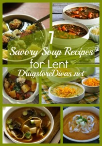 It's cold, which means you want soup. But it's Lent, so no meat on Fridays. Sounds like a good time to try these 7 Savory Soup Recipes For Lent from www.drugstoredivas.net.