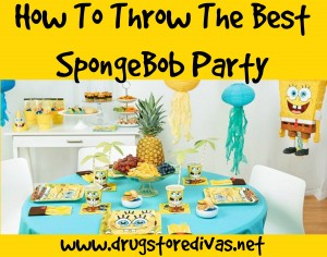 How To Throw The Best SpongeBob Party