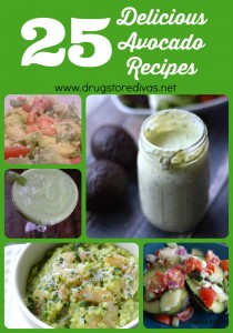 Looking for a way to add an avocado onto your menu? Check out this list of 25 Delicious Avocado Recipes, curated by www.drugstoredivas.net.