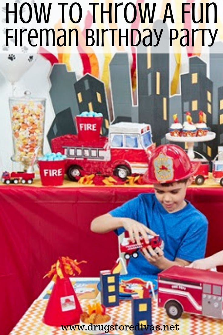 Decorating Ideas Fireman Birthday Party from www.drugstoredivas.net