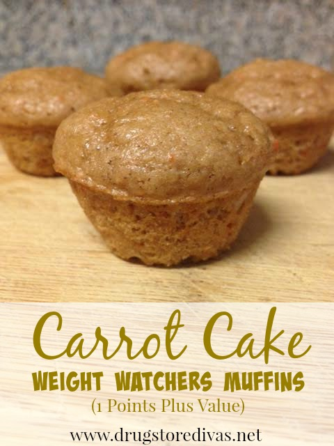 Carrot Cake Weight Watchers Muffins 1 Points Plus Value Or 15 Freestyle