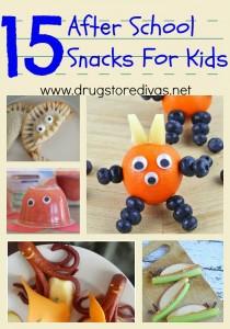 After School Snacks For Kids | Drugstore Divas | www.drugstoredivas.net
