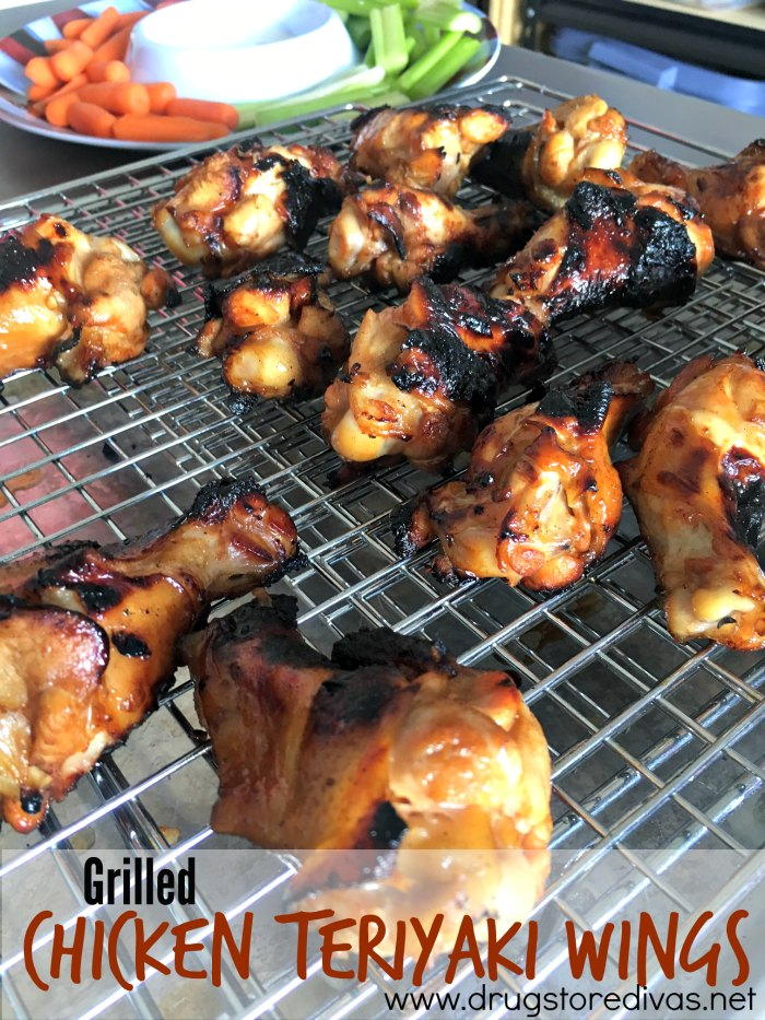 What are you grilling this weekend? How about these tasty chicken teriyaki wings from www.drugstoredivas.net?