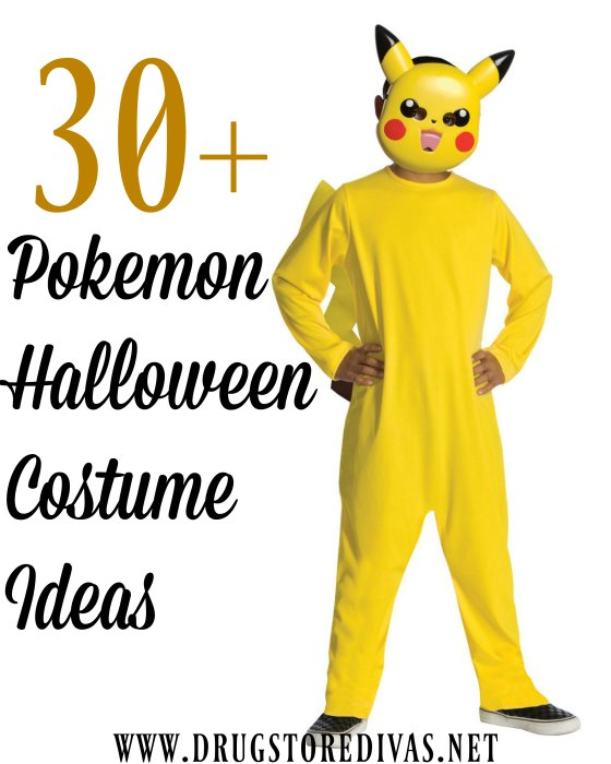 30+ Pokemon Halloween Costume Ideas - Drugstore Divas