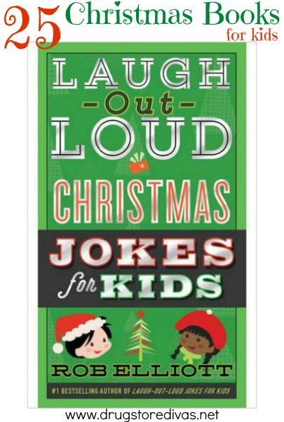 Books are such a great Christmas gift idea. Check out these 25 Christmas Books For Kids on www.drugstoredivas.net