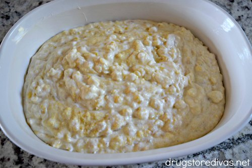 Looking to be the hit of your next pot luck? This corn casserole recipe from www.drugstoredivas.net is PERFECT!