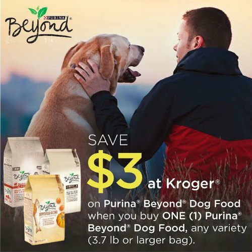 #ad Save $3 on Purina® Beyond® Dog Food when you buy ONE (1) Purina Beyond Dog Food at Kroger. #RememberBeyond
