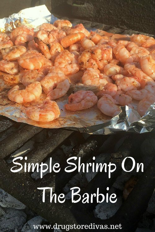 Headed to the beach for the day? You'll definitely want to set aside time to make this simple shrimp on the barbie (charcoal grilled shrimp recipe).