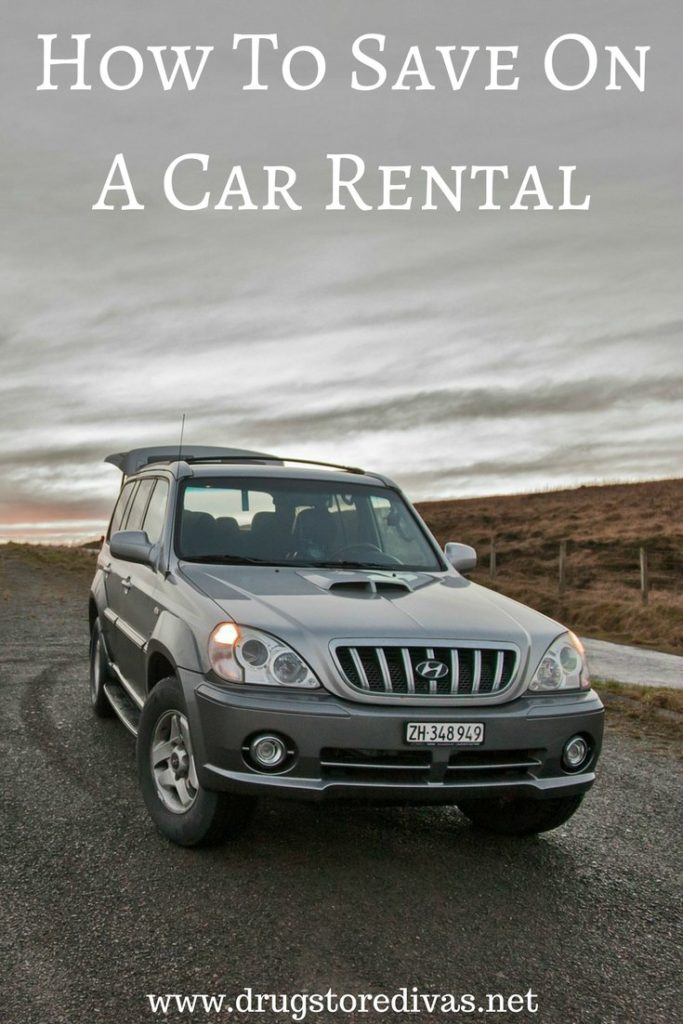 Planning on renting a car? Find out how to save on a car rental at www.drugstoredivas.net.