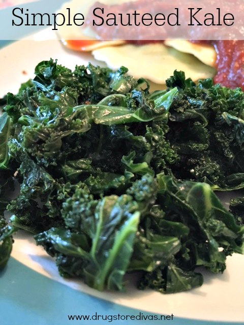 Add some kale into your meals with this Sauteed Kale recipe from www.drugstoredivas.net.