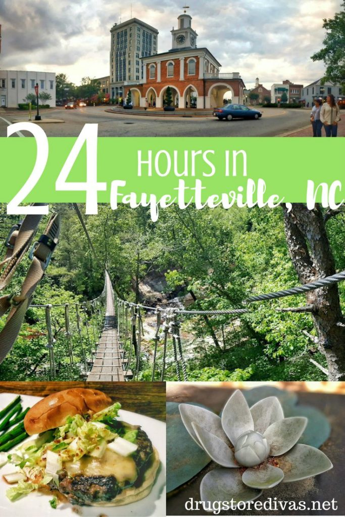 Spending 24 hours in Fayetteville, NC? Find out the best things to do in Fayetteville, NC in this post on www.drugstoredivas.net.