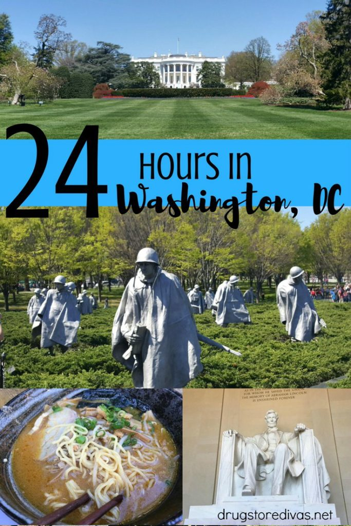 Spending 24 hours in Washington, DC? Check out this great post of things to do in Washington, DC from www.drugstoredivas.net to maximize your time.