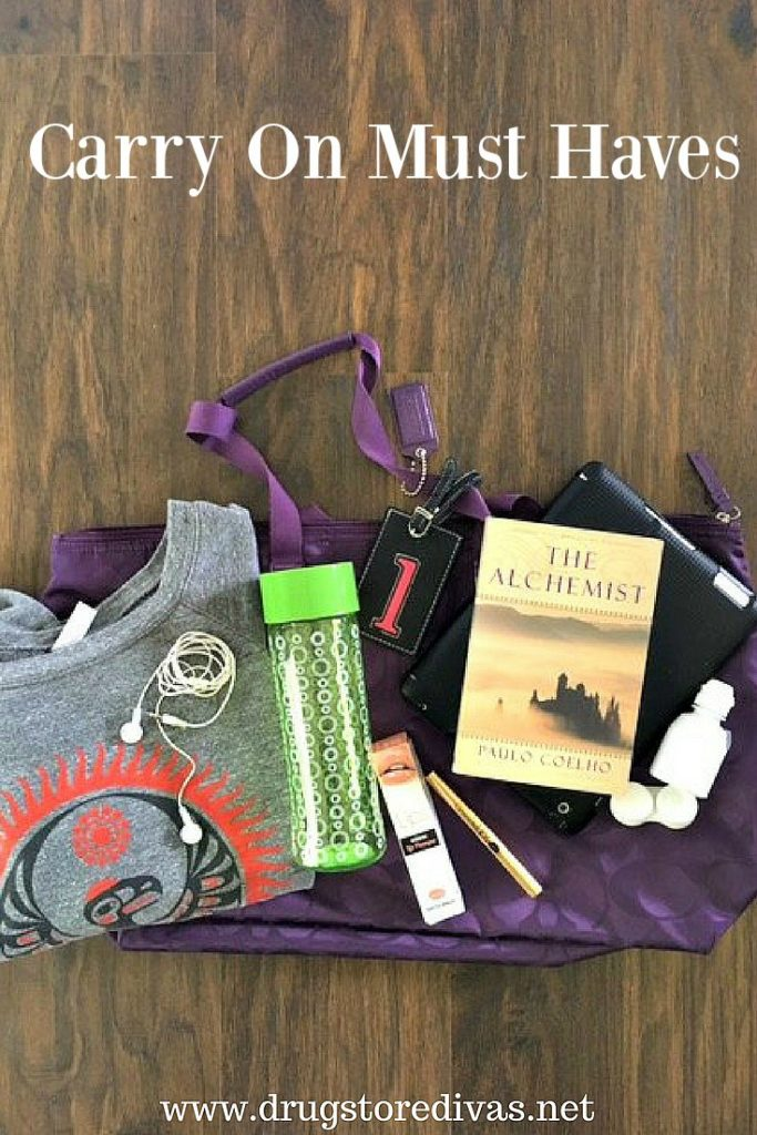 Flying somewhere this summer? Be sure to check out this Carry On Must Haves post from www.drugstoredivas.net before packing your bags.