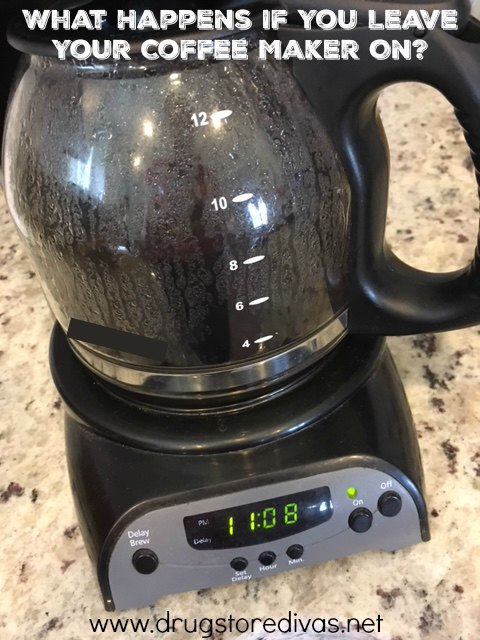 If you leave your house with the coffee maker on, you might not have to worry. Find out what happens if you leave your coffee maker on from www.drugstoredivas.net.