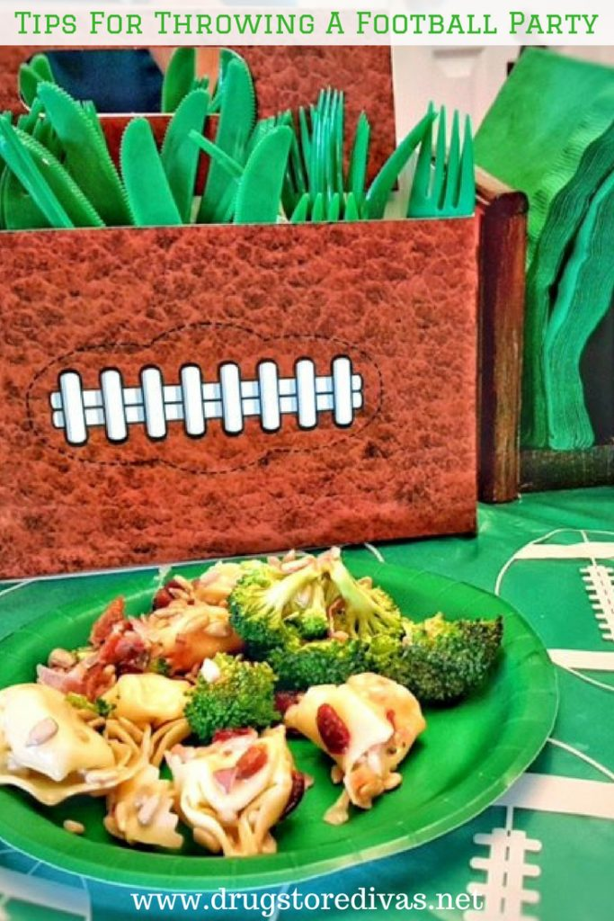 #ad Get ready to tailgate with these tips to throwing a football party with www.drugstoredivas.net.