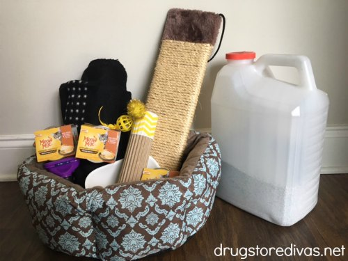 #ad Animal shelters really need donations, especially this time of year. Find out how to create an animal shelter donation box from www.drugstoredivas.net. #MeowMixatTarget