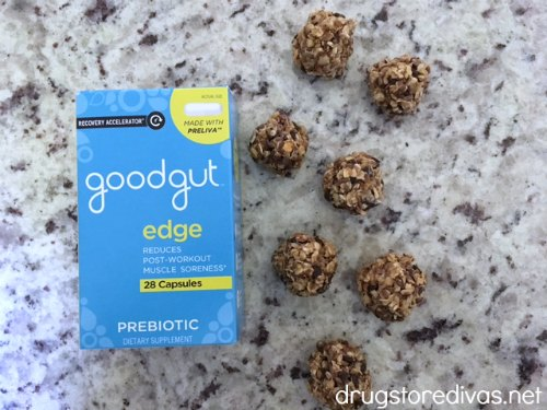 #ad Need an extra kick of energy? Make these No Bake Chocolate Chip Walnut Energy Bites from www.drugstoredivas.net to keep in your freezer and grab when you're hungry!