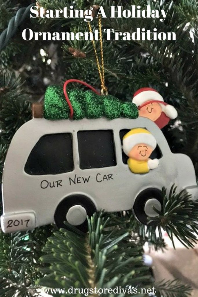 #ad Starting a holiday ornament tradition can be so special. Find out more about why at www.drugstoredivas.net.