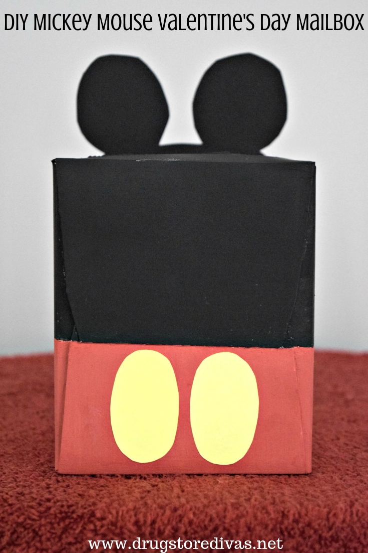Valentine S Day Mailbo Don T Have To Be Complicated This Diy Mickey Mouse