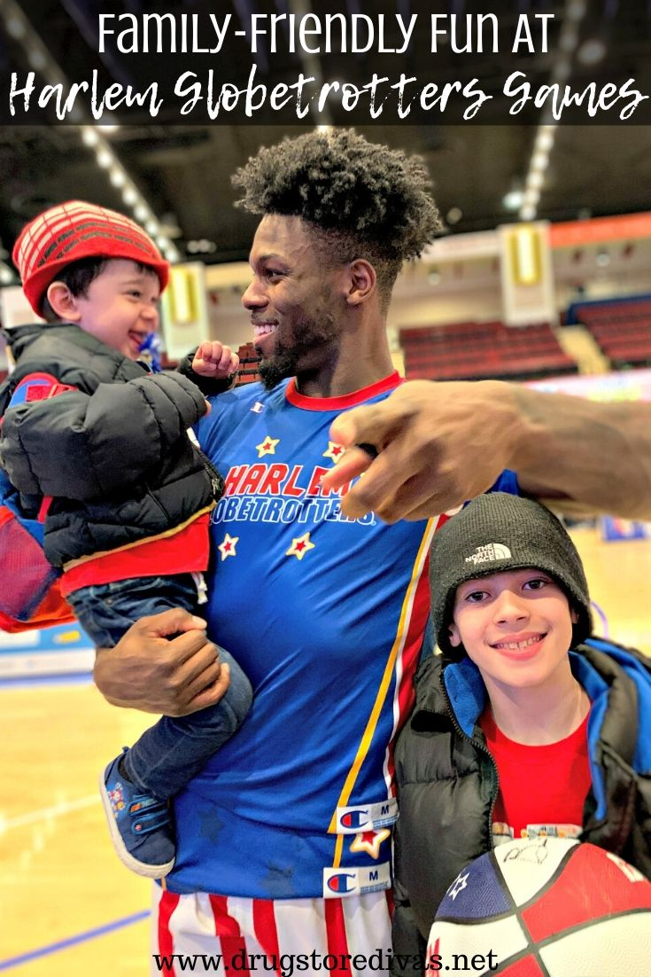 A Harlem Globetrotters game is a lot of fun for the whole family. Find out more at www.drugstoredivas.net.