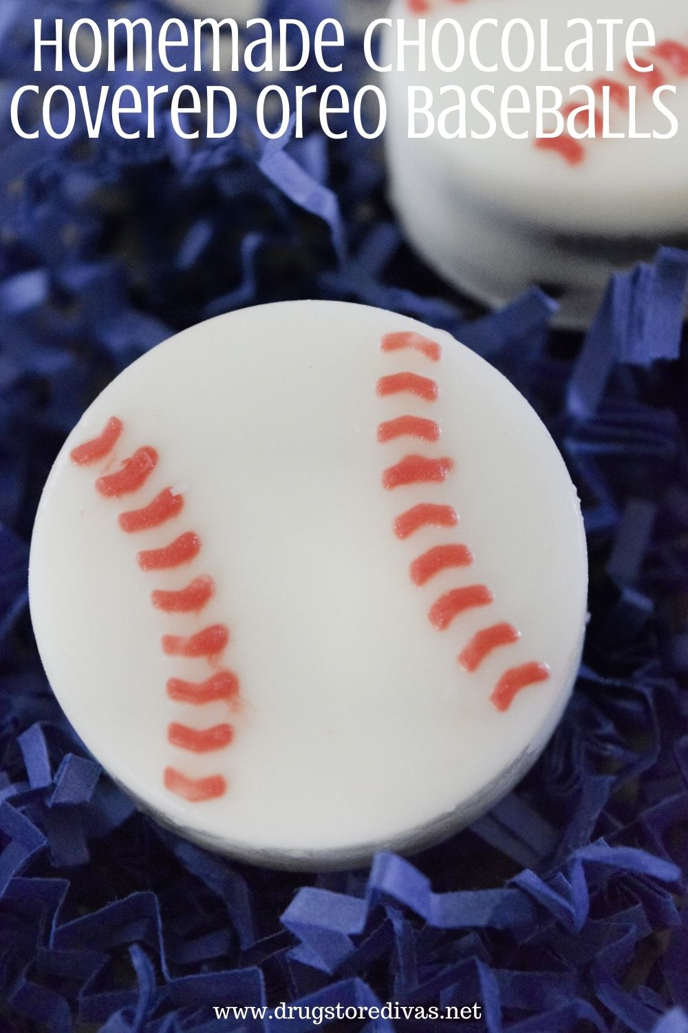 Homemade Chocolate Covered Oreo Baseballs are easier to make than you think. They're perfect for baseball games, gifts for dad, and more.